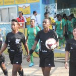 Second from left Iola Simmons Referee Antigua and Barbuda.Second from left Iola Simmons Referee Antigua and Barbuda.