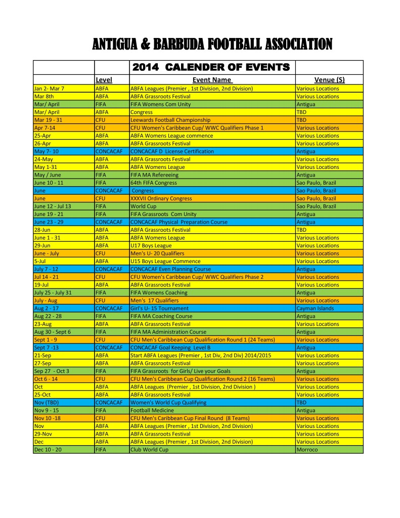 ABFA 2014 CALENDER OF EVENTS-page-001