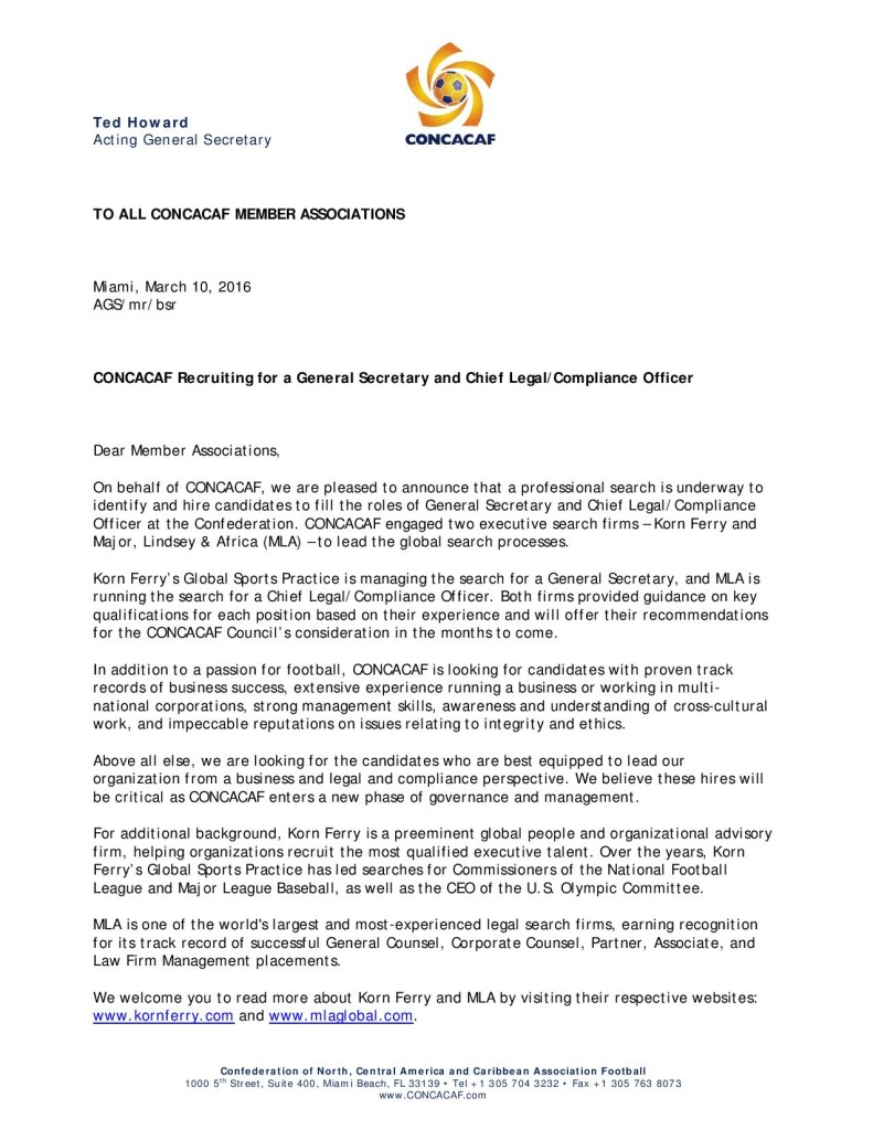 160310_CONCACAF Recruiting for a General Secretary and Chief Legal-Compl...-page-001